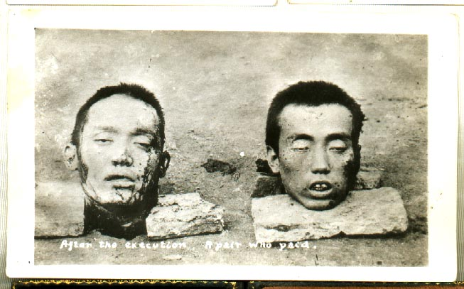 Chinese Woman Execution