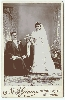 Wedding - Bride & Groom Cabinet Cards