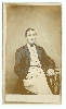 Identified Civil War Soldier CDV