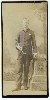 Clarinetist Oversize Cabinet Card