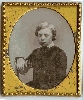 Sad Looking Boy Daguerreotype
