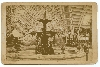 Fountain of Agri Hall of New York Cabinet Card