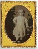 Girl in Pantaloons Ambrotype