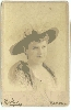 Actress Elizabeth Davis Cabinet Card