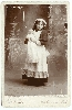 Child with a Doll Cabinet Card