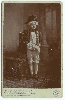 Cabinet Card of a Child as Lord Nelson