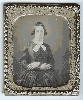 Daguerreotype of a Woman with Crossed Arms