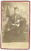 British Military Officer CDV