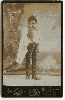 German Opera Cabinet Card of Cavalleria Rusticana