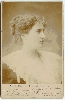 Famous Beauty of London Society Cabinet Card