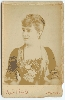 Adelina Patti Cabinet Card by Newsboy