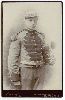 Bandsman with a Baritone Horn Cabinet Card