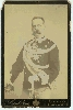 Cabinet Card of Humbert I, King of Italy