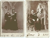 The Bride Wore Black - Wedding Cabinet Cards