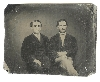 Twin Brothers Sixth Plate Tintype