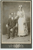 Two Wedding Silver Photographs