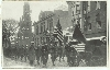 World War I Funeral Procession Parade Silver Photo
