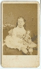 Girl with a Doll CDV