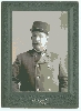 Railroad Conductor and Two Military Images