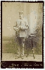 Clarinetist Cabinet Card