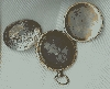 Double Daguerreotype Pocket Watch